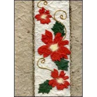 Christmas Flower Stripe