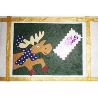 Reindeer 'Merry Christmas'