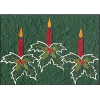 Three Candles Green