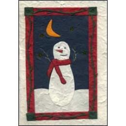 Moonlit Snowman