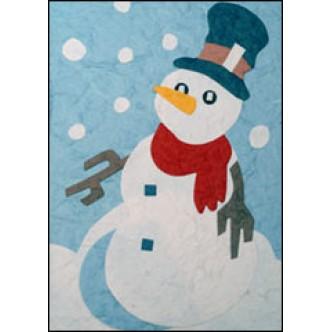 Snowing on Snowman