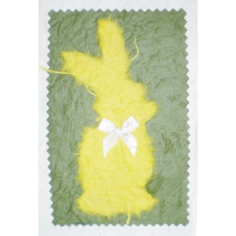 Yellow Bunny with Bow