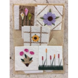 Flower Gift Tag Set
