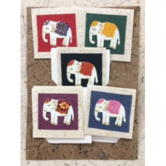 Elephant Gift Tag Set