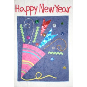 'Happy New Year' Party Popper