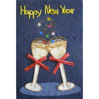 'Happy New Year' Toast