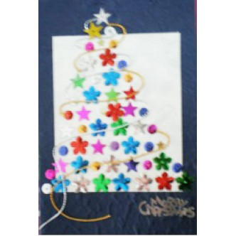'Merry Christmas' Tree