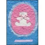Blue and Pink Bear 'Congratulations'