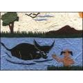 Swimming With Buffalo