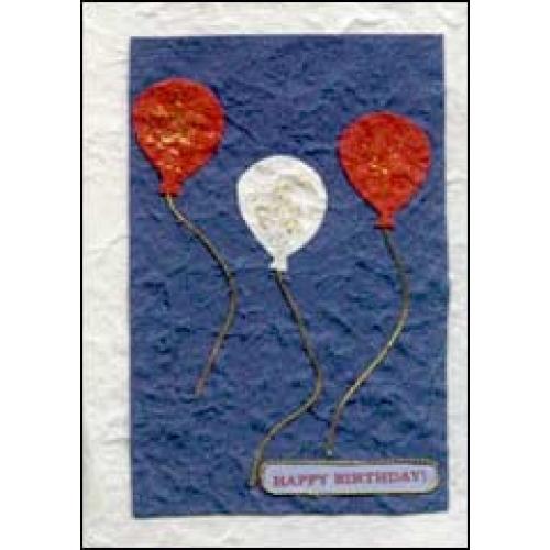 Handmade Card: Balloons Birthday