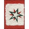 Red and White Christmas Star