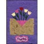 Purple Thank You Flowers